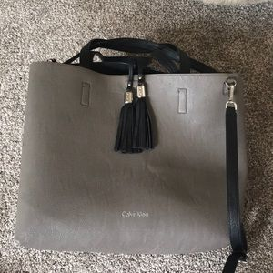 Calvin Klein large crossbody bag